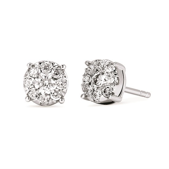 Diamond Earrings by Ostbye
