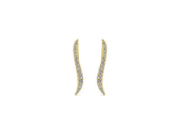 Diamond Earrings by Gabriel & Co