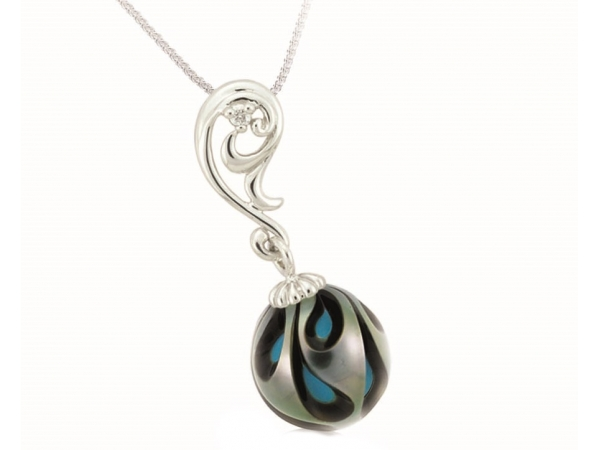 Pearl Pendant by Galatea