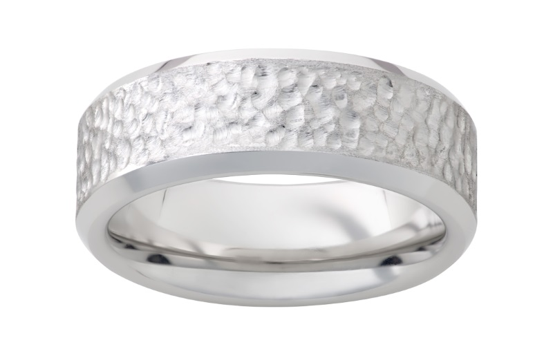 Serinium™ wedding band by Jewelry Innovations