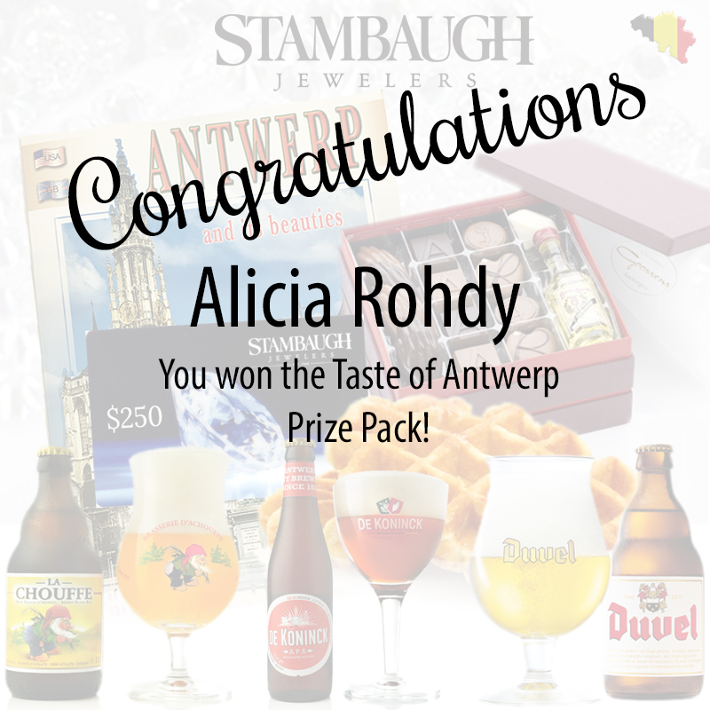 Taste of Antwerp Winner