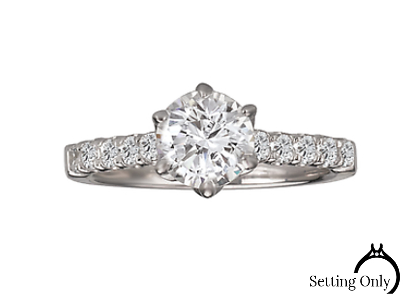 Engagement Mounting by Romance Diamond