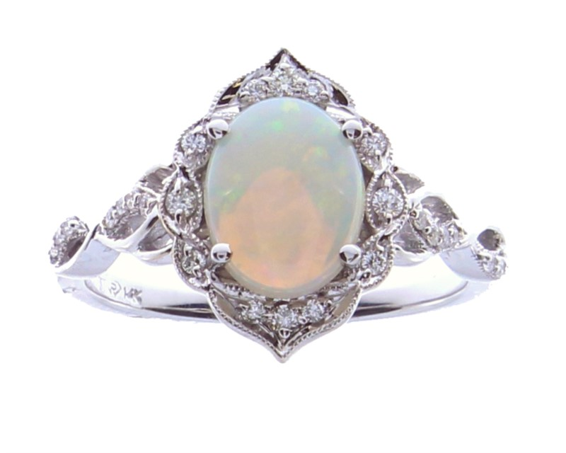 Colored Stone Fashion Ring by Rego