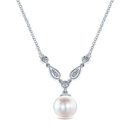 Pearl Pendant by Gabriel & Co