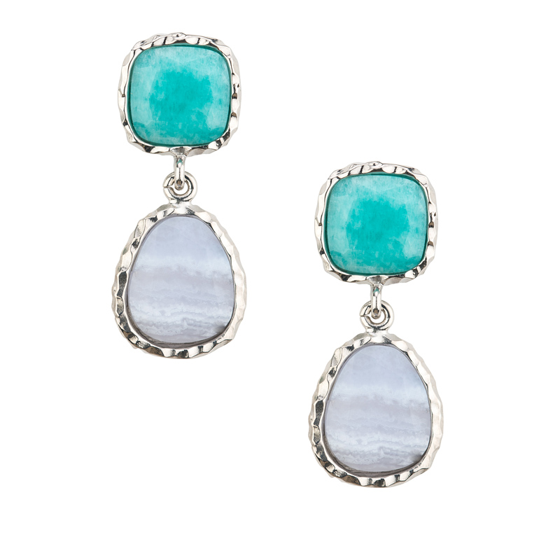 Frederic Duclos Sterling Silver Earrings by Frederic Duclos