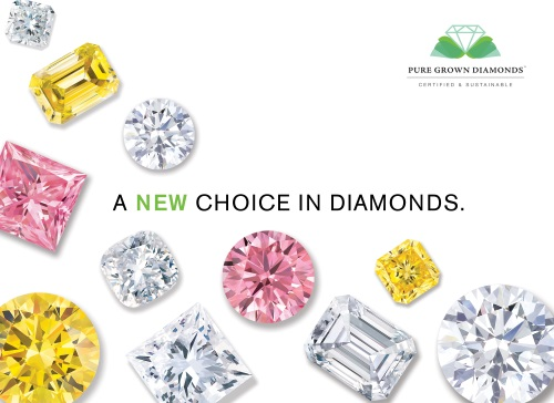 Pure Grown Colored Diamonds