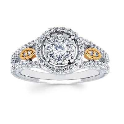 halo engagement rings archbold ohio