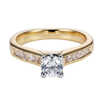 straight line engagement rings archbold