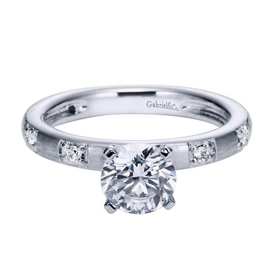 straight line engagement rings archbold ohio