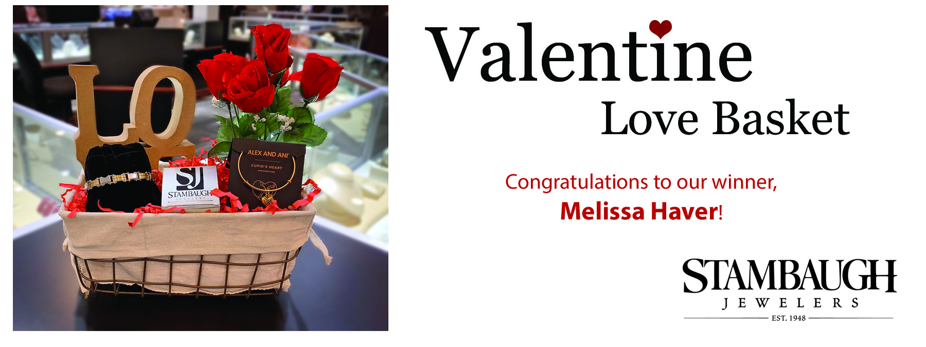 Valentine Love Basket Winner